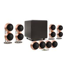 mod2x plus 5 1 home theater speaker system orb audio touch of
