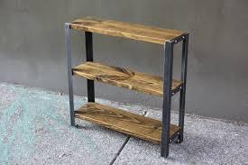 Bookshelf 3 Shelf Bookcases U2014 Mid Century Industrial Primitive Furnishings