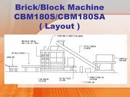 Concrete Block Floor Plans Cement Brick U0026 Concrete Block Making