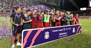 Liverpool Trophy Cabinet Liverpool Beat Leicester City 2 1 To Win Asia Trophy As It