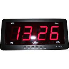 membuat jam digital led besar jam digital led jam digital meja dengan tilan angka besar yang