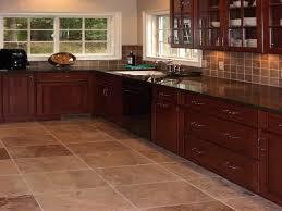 kitchen floor ideas kitchen flooring ideas with cherry cabinets unique hardscape