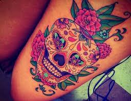 girly skull tattoos for girls tattoo pinterest girly skull