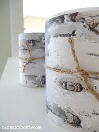 birch tree wrapping paper birch bark gift wrapping ideas