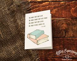 Book Birthday Card Birthday Card Bon Voyage Card Greeting Card Happy Birthday
