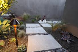 mid century modern landscape design with beautiful for outdoor