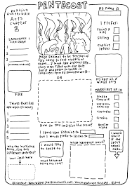 pentecost worksheet pentecost crafts and lessons for kids