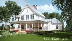 Farmhouse House Plans With Porches | 2 story house plan with covered front porch