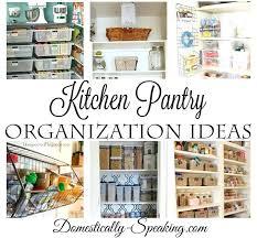 kitchen pantry closet organization ideas kitchen pantry organization bloomingcactus me