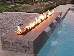 Gas Firepits Best Creative Outdoor Gas Pit In Rectangular Shape Designed