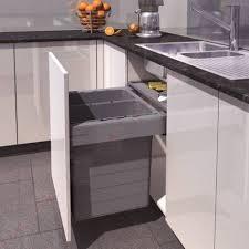 accessoires cuisines set poubelles suspendues xl pour tiroir accessoires de cuisines