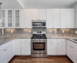 backsplash white kitchen ideas minimalistic style image kitchen backsplash white