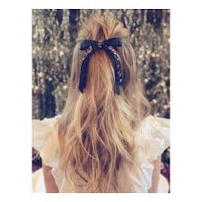 hair ribbon why a 1 black velvet ribbon is the only hair accessory you need