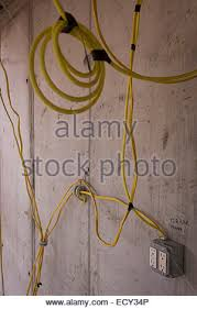 electrical wiring during installation on new york city