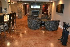 creative concrete floor paint colors indicates luxury