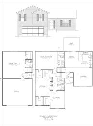 brick split level renovation house 319 from the main floor of