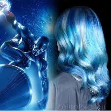 inspired by the silver surfer caitlin ford creates a blue and
