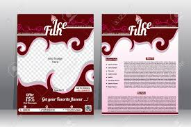country brochure template flyer brochure template royalty free cliparts