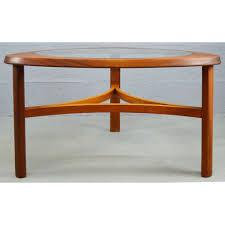 mid century vintage teak u0026 glass coffee table by nathan pedlars