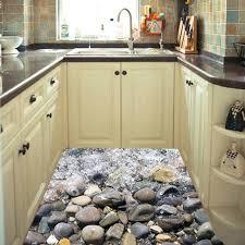 k che diy kopfsteinpflaster sandstrand boden aufkleber blue sea shell küche