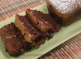 chocolate tea cake non vegetarian recipe by master chef sanjeev