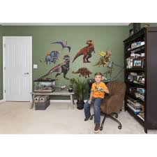 boys wall decals rosenberry rooms jurassic world hybrid dinosaurs collection
