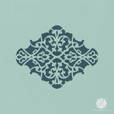 alhambra ornament craft stencil royal design studio stencils