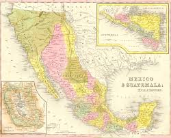 Us Mexico Map Northalc Mexican Cession Mexican Cession Wikipedia Map Of The