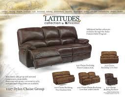 Flexsteel Chairs Flexsteel Latitudes 1127 Dylan Chaise Reclining Sofa Group