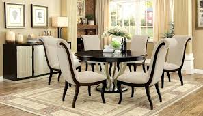 Furniture In Dining Room Espresso Dining Room Set Furniture Of In Chagne Table
