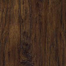 Acacia Wood Laminate Flooring Trafficmaster Hand Scraped Saratoga Hickory 7 Mm Thick X 7 2 3 In
