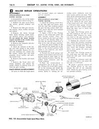 Old Ford Truck Brochures - 1964 ford and mercury shop manual part 15 part 23 page 20 of 90