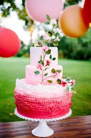 pink apple inspired wedding