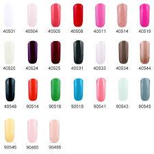 eleacc 10ml soak off uv led color gel nail polish gelpolish nail