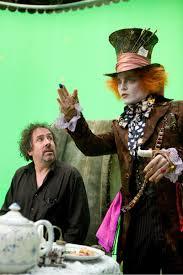 Alice au Pays des Merveilles (2010) : Alice Le chapelier et Tim ... - alice-le-chapelier-et-tim-burton_jpg_500x630_q95