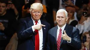 trump s trump and pence send mix messages on puerto rico support nbc news