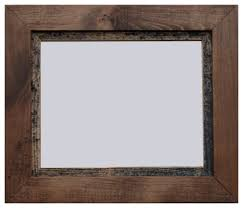 wood frames rustic wood frame myrtle series farmhouse picture frames
