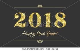 2018 happy new year background texture stock vector 671078377