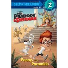 peabody u0026 sherman penny pyramids english wooks