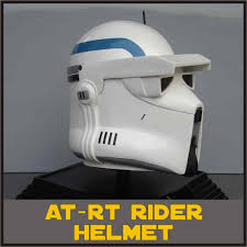 clone trooper at rt rider scout star wars life size helmet prop