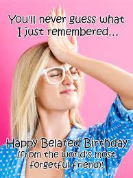 deflated balloon funny belated birthday card birthday u0026 greeting