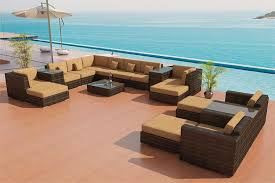 Teak Sectional Patio Furniture Sectional Sofa Outdoor Patio Furniture Set 25