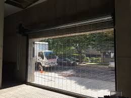 Garage Overhead Doors by Motorized Metal Roll Up Shutters And Rapid Overhead Roll Up Doors
