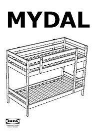 Mydal Bunk Bed Frame Mydal Bunk Bed Frame Pine Ikea United Kingdom Ikeapedia