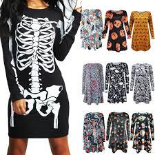 black punk girls dress 2017 autumn winter new print pattern