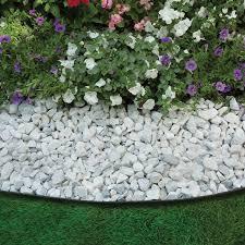 easyflex no dig garden edging 50 u0027 metal landscaping edging