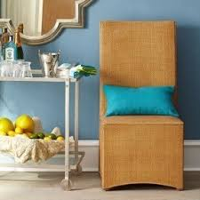 Orange Parsons Chair Rattan Parsons Chairs Foter