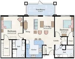 1500 square floor plans two bedroom apartment floor plan larksfield place