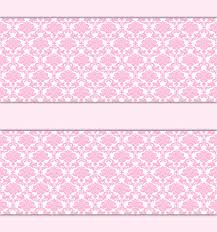 Wallpaper Borders For Girls Bedroom Pink Damask Wallpaper Border Wall Decal Baby Princess Nursery