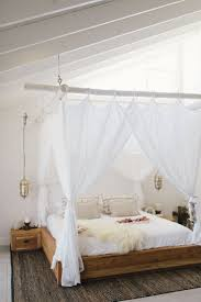 Wohnideen Schlafzimmer Bett Die Besten 25 Himmelbetten Ideen Auf Pinterest Schutzdächer